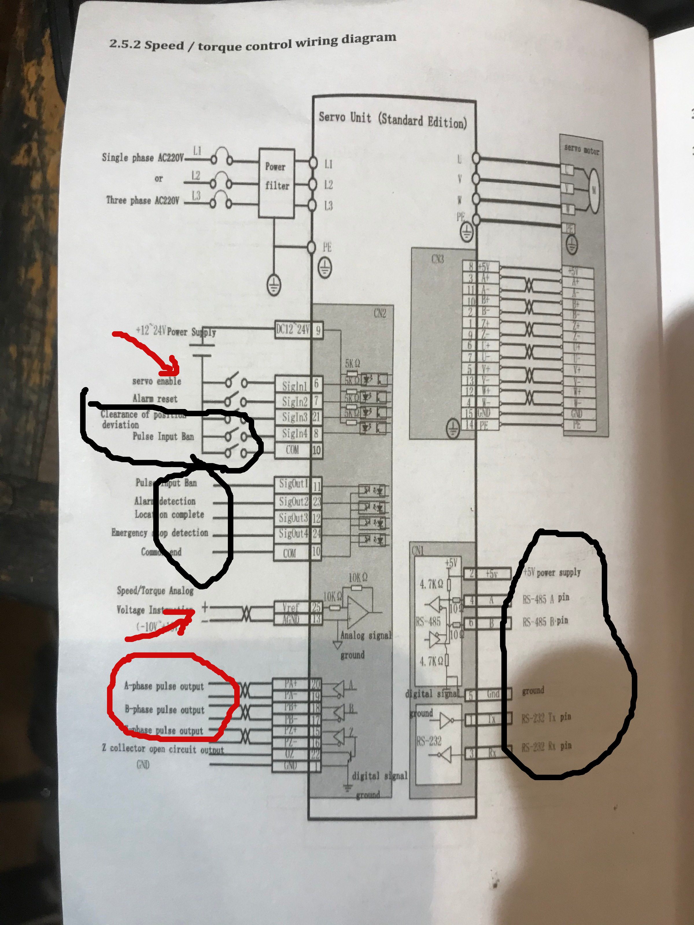 Servo Wiring And Operation - Help Needed Wiring Diagram