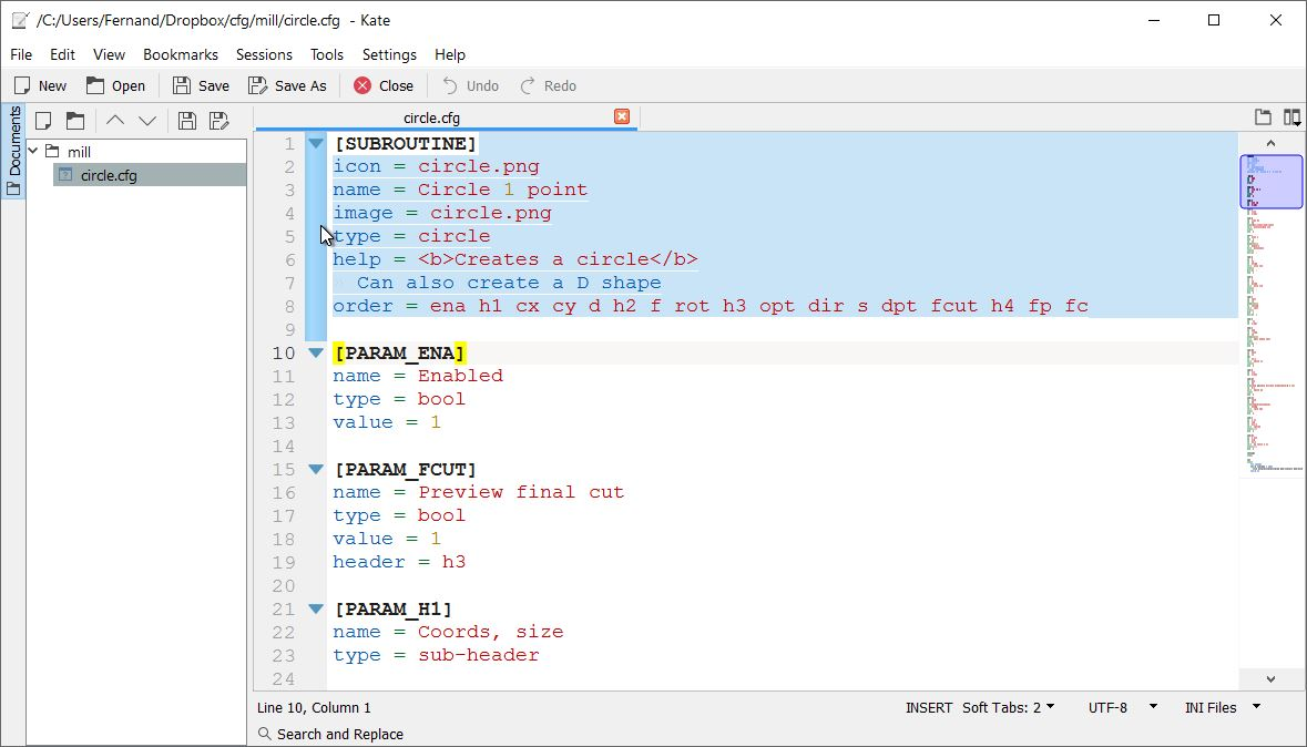 LinuxCNC Features - a kind of NGCGUI - Page 31 - LinuxCNC