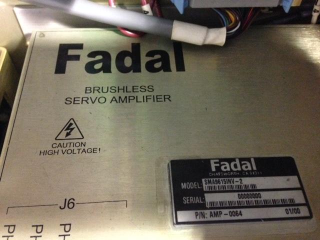 Fadal Retrofit - LinuxCNC