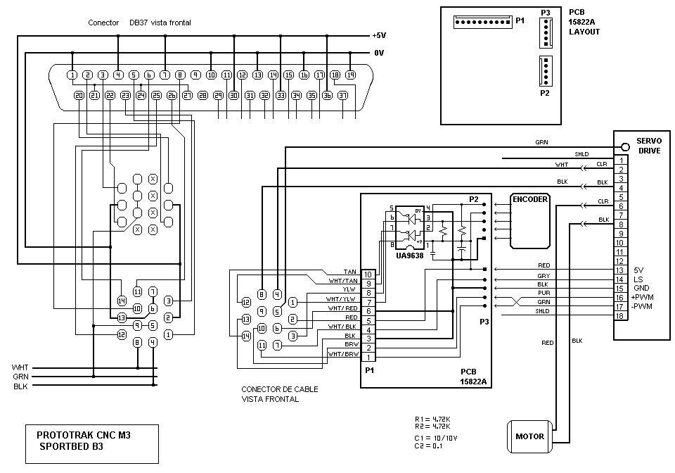 proto trak mx3 retrofit - which boards mesa  - page 3