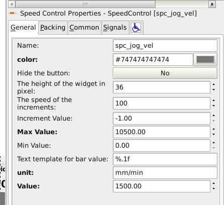 how to change glade speed control widget to negative value  speedcontrolglade png