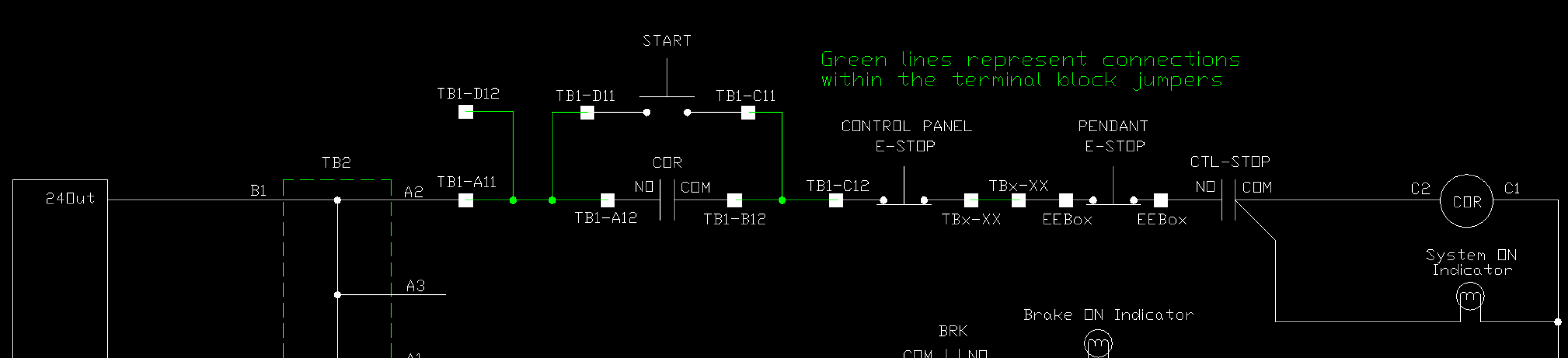 VistaCNC P4-SE pendant stopped working - Page 2 - LinuxCNC on e stop symbol drawing, e stop electric symbols, 3 wire start stop diagram, block diagram, e stop circuit example, basic emergency stop circuit diagram, e stop cable,