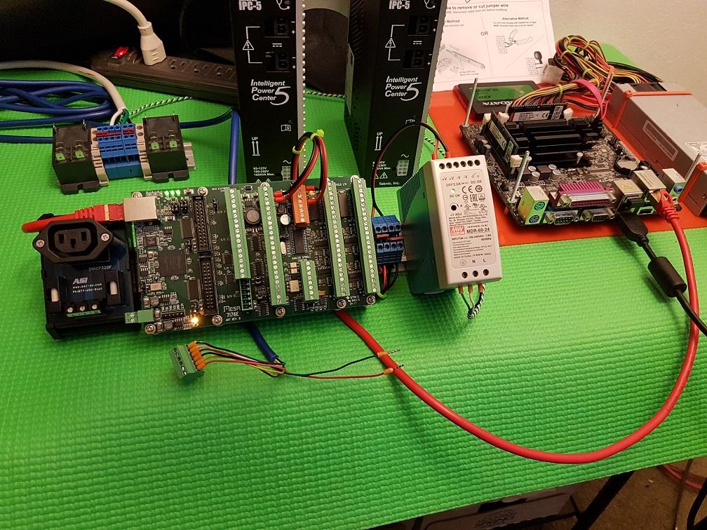7i76E power? - LinuxCNC