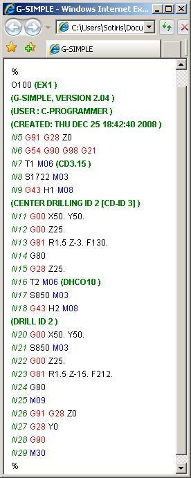 Up loading G code into EMC2 - LinuxCNC